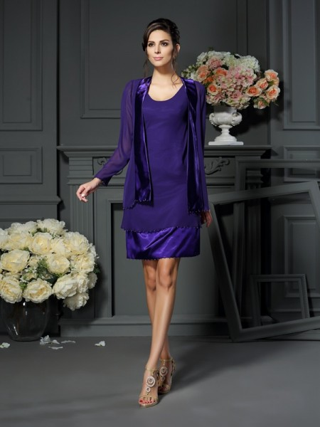 Elegant Long Sleeves Chiffon Special Occasion Wrap